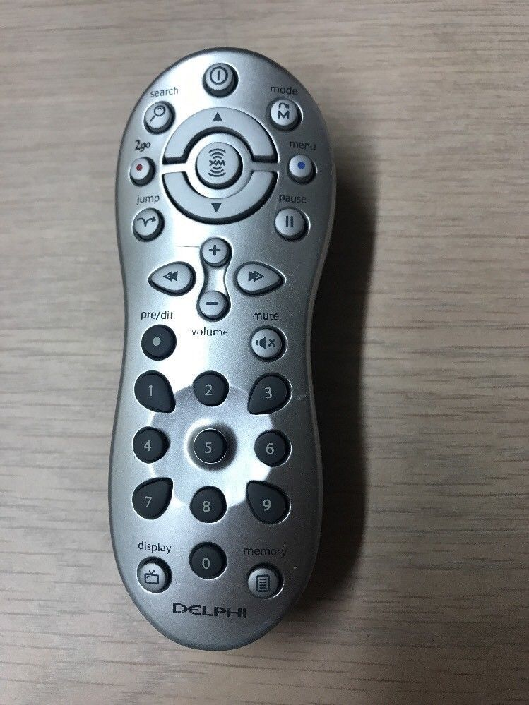 Delphi XM MyFi Remote Control  Tested And Cleaned                           (02)