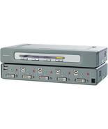 Belkin F1DN104D OmniView Secure 4-Port DVI-D KVM Switch - $30.68