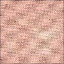 32ct Pink Sandy Beaches Hand Overdyed Lugana 18x27 cross stitch fabric Z... - $15.75
