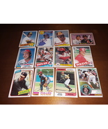 Collection of 12 Vintage Baseball Hall of Famers Cards - Pete Rose, John... - $14.95