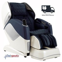 Blue Osaki OS-Pro Maestro L&S Track Heated Rollers Massage Chair + White... - $9,249.00