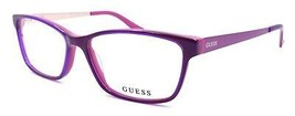 GUESS GU2538 075 Women's Eyeglasses Frames 55-15-135 Shiny Fuchsia / Gold + CASE - $64.25