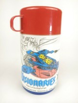 Vintage 1987 Visionaries Hasbro Plastic Lunch Box Thermos by Aladdin - $14.97