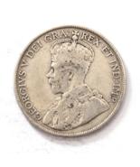 1919 C 50c Canada Newfoundland KM# 12 Rare Low Mintage - €17,66 EUR