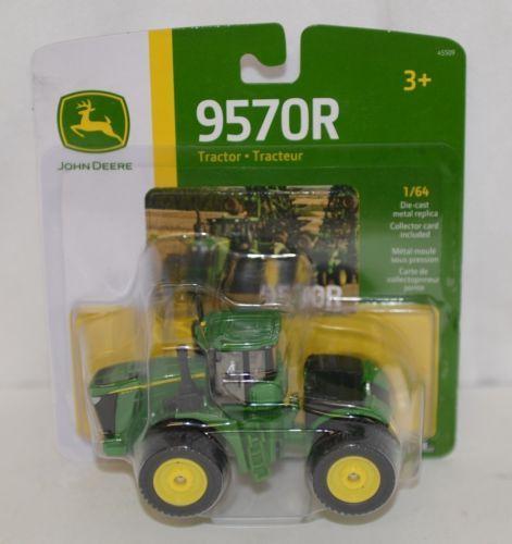 John Deere LP53356 Die Cast Metal Replica 9570R Tractor Triple Wheels