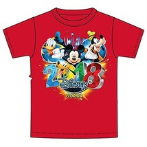 Disney Mickey Mouse Donald Duck Goofy Pluto Toddler T Shirt 2018 Pop Out... - $11.76