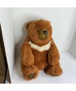Fiesta Sun Bear Round Fat Plush Stuffed Animal Toy 16.5 In Tall - $46.74
