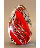 Orient & Flume Cased Art Glass Swirl Tri Paperw... - $199.00