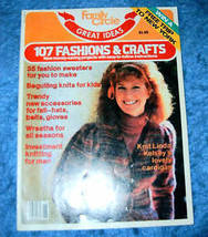 Family Circle 107 Fashion & Crafts July 1982 Vol 8 - $4.00