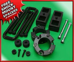 "For 05-20 Toyota Tacoma 4WD 2"" F + 1"" R Full Billet Lift Kit 6-Lug + Dif... - $150.05"