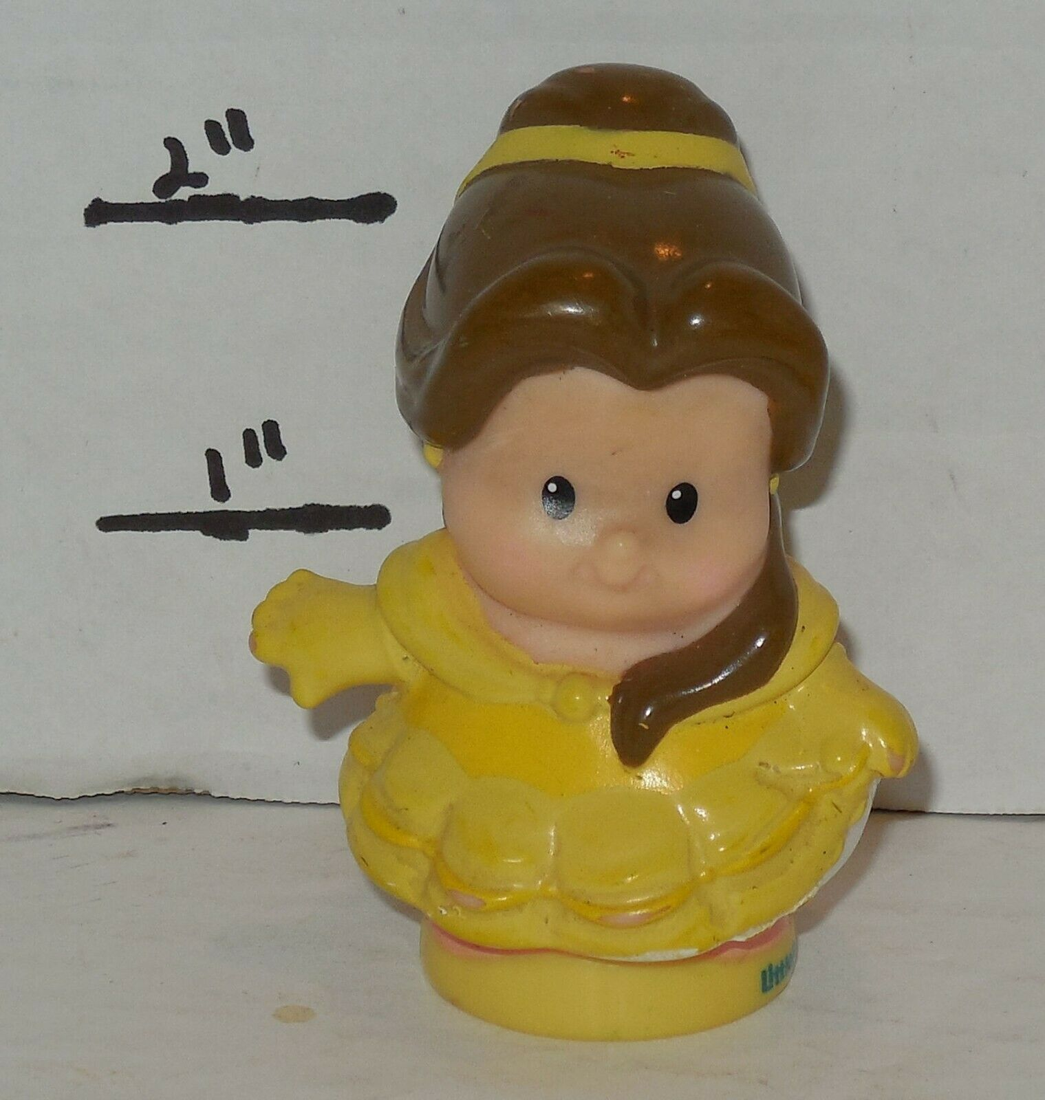 Fisher Price Current Little People Disney Beauty & The Beast BELLE FPLP
