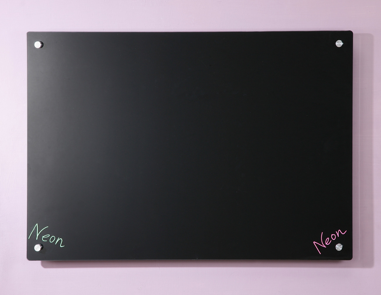 "Primary image for Black Glass Dry-Erase Board - 17 3/4"" x 23 5/8"" - 45 x 60 cm"
