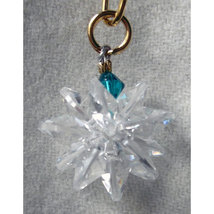 Miniature Clear Crystal Suncluster Charm image 4