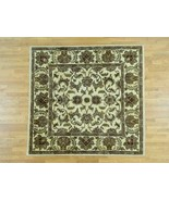 9'x9' HandKnotted 100 Percent Wool Agra Square Oriental Rug G33761 - $572.74