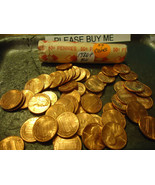 1986-P BU ROLL OF LINCOLN CENTS     >>55 COIN - $10.15