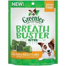 GREENIES BREATH BUSTER Bites Chicken & Parsley Flavor Treats for Dogs 2.... - $23.75