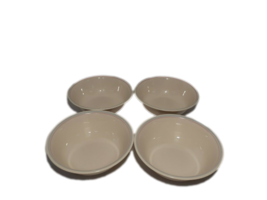 "4 Corelle Bowls, English Breakfast Pattern, 6-1/4"" Dessert Soup Cereal S... - $14.54"