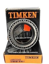 LOT OF 2 NIB TIMKEN LM603049 BEARINGS TAPERED ROLLER 1.7812IN-BORE .7812IN-W