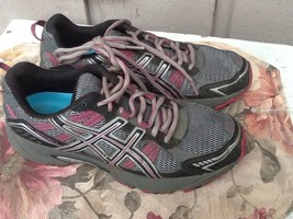 Women's ASICS Gel Venture 4 Multi-Colors Athletic Running Shoes Size 7.5... - $19.79
