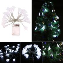 (20 LED white)10 LED Battery Operated Heart Shaped Christmas String Light  - $18.00