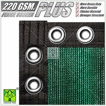 ColourTree 6' x 50' Green Plus Extra Heavy Duty Fence Screen Privacy Scr... - $98.03