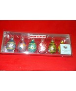 Easter Egg Ornaments Set Of 6 Glass Well Dressed Home - $39.99