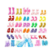 Barbie High Heel Shoes Boots 80pcs 40 Pairs For... - $3.89