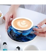 LOULONG® The Starry Night Series Van Gogh Art Oil Painting Cappuccino Latte - $29.98+