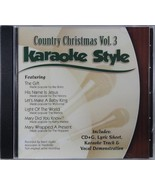 Country Christmas Volume 3 Christian Karaoke Style NEW CD+G Daywind 6 Songs - $15.86