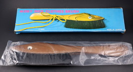 Rare Vintage MOBY DICK Clothes Brush Fish Design Nylon Unique New Old St... - $10.99
