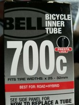 Bell Bicycle Inner Tube (fits tire widths 25 - 32mm) Best for Road or Hybrid - $11.83