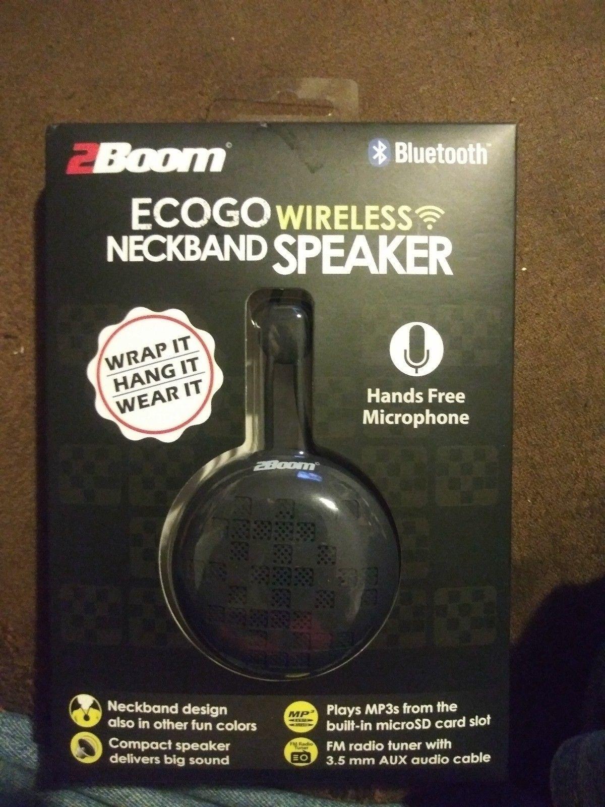 2Boom ECOGO Wireless Bluetooth Neckband and 50 similar items