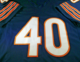 GALE SAYERS / NFL HALL OF FAME / AUTOGRAPHED CHICAGO BEARS CUSTOM JERSEY / COA image 2