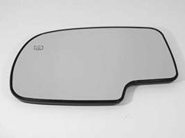 Fits 99-07 Silverado, GM Sierra Classic Driver Heated Mirror Glass W/ Ba... - $17.77