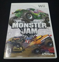 Monster Jam Truck Action Nintendo Wii 2007 - $5.93