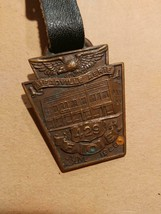 1256----1929 Fraternal Order of Eagles No. 429 Meadville PA watch fob - $48.00