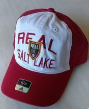 Adidas MLS Real Salt Lake Soccer Hat Cap Curved Visor Size S/M - $20.00