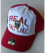 Adidas MLS Real Salt Lake Soccer Hat Cap Curved Visor Size S/M - $20.00