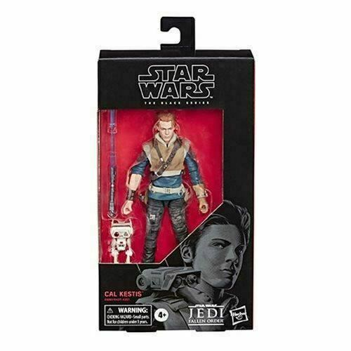 Primary image for Star Wars The Black Series Fallen Order Cal Kestis Action Figure 6-Inch