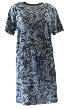 NWT $195 TORY BURCH Drawstring Waist Pima Cotton T-Shirt Dress, Sz M - $101.15