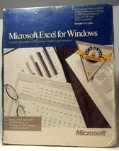 NEW NOS Microsoft Excel For Windows 1990 2.1 VINTAGE SEALED - $149.57