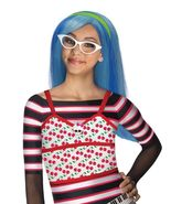 Brainy Monster High Super Star Ghoulia Yelps Frosted Blue Girl Polyester... - $11.74
