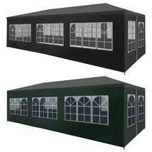 """vidaXL Party Tent 118.1""""x354.3"""" Outdoor Canopies Pavilion Anthracite/Green - $106.99"""