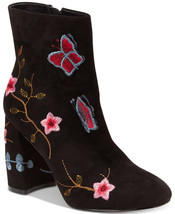NIB! $129 Nanette by Nanette Lepore Lilly Embroidered Booties - Size 8
