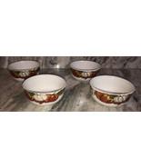 """Set Of 4 Brand New Royal Norfolk 6""""Thanksgiving Pumpkin Holiday Bowls-SH... - $39.08"""