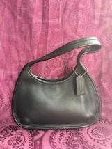 Coach Vintage Ergo Black Leather Mini Hobo Handbag 9027, EUC - $58.80