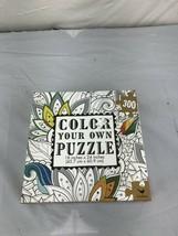 Color your own Puzzle NIB - $19.80