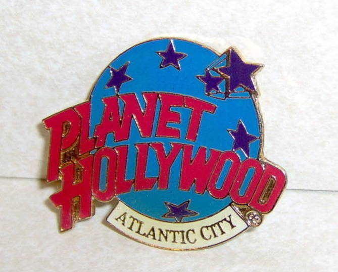 Planet Hollywood Atlantic City Collectible Lapel Pin