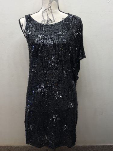 f660f071 12. 12. Previous. Zara Fully Beaded Sequins Sleeveless Formal Cocktail Dress  Mini Black M Lined
