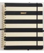NWT Kate Spade Set The Stage 17 Month Mega Agenda Book Black Stripe - $19.50